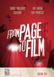 for foreign film producers french publishers catalogue - BIEF