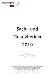 15. August 2011 (Berichtigungsstand 08. 01. 2013) - invitrust