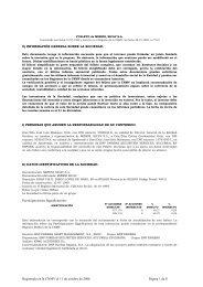 FOLLETO de MADRID BONOS HIGH YIELD - FIMF - BNP Paribas