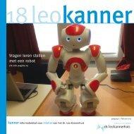 Vragen leren stellen met een robot - Dr. Leo Kannerhuis