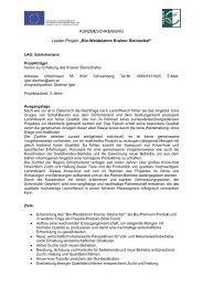Bio-Weidelamm Krainer Steinschaf - Raumplanung Steiermark