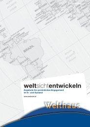 weltsichtentwickeln - Referat Mission und Entwicklung Erzdiözese ...