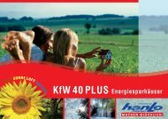 HANLO - KfW 40 Plus Katalog