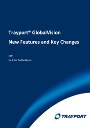 New Features and Key Changes in Broker Trading ... - Trayport