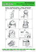 Betriebsanleitung Universal-Wassersauger Typ1545 SFE - Seite 3