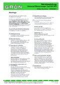 Betriebsanleitung Universal-Wassersauger Typ1545 SFE - Seite 5