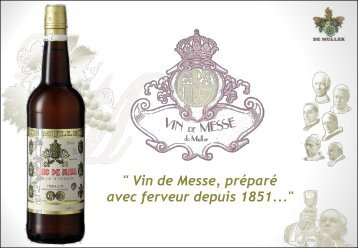 De Muller Sacramental Wines French