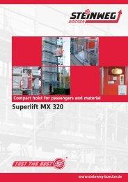Superlift MX 320 - Steinweg-Böcker