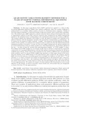 quasi-monte carlo finite element methods for a class of elliptic partial ...