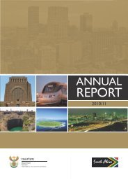 Department of Tourism - ANNUAL REPORT 2010/11