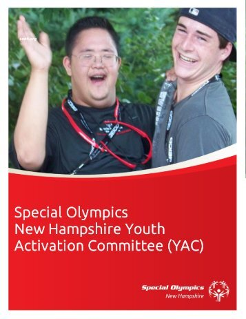 Statewide Youth Activation Committee - Special Olympics - New ...