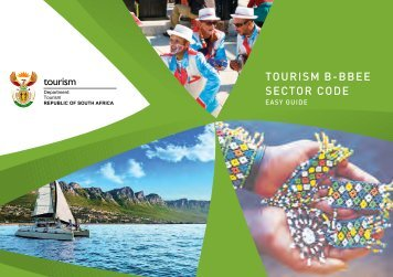 TOURISM B-BBEE SECTOR CODE - Department of Tourism