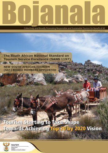 Bojanala TOURISM Edition 01 February/March/April 2012