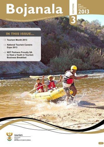 Bojanala July-September 2013 - Department of Tourism