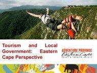 Tourism Development Eastern Cape Perspective