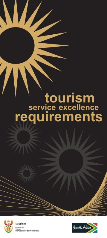 The Tourism Service Excellence requirements - Department of ...
