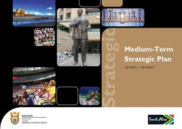Strategic Plan 2010/11 - 2014/15 - Department of Tourism