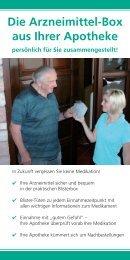 Die Arzneimittel-Box aus Ihrer Apotheke - Hohemark-Apotheke ...