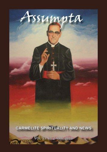 Assumpta - British Province of Carmelite Friars