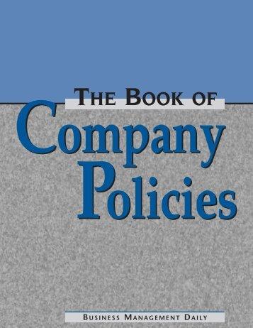 sample policies