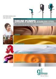 Drum pumps stainless steel - Servibrel
