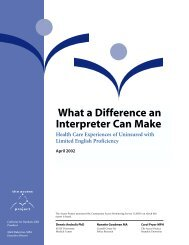 What a Difference An Interpreter Can Make - The Access Project