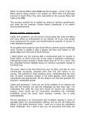 Minister of Tourism at the Indaba opening ceremony - Department of ... - Page 2