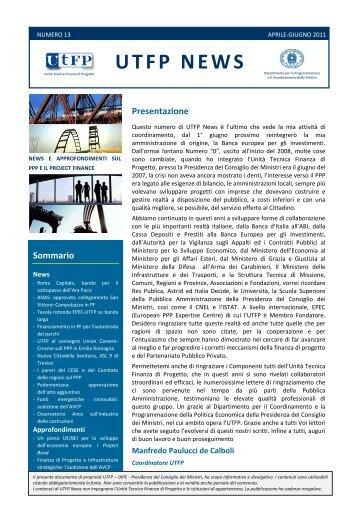 UTFP News Numero 13
