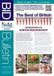 to download BID NEWSLETTER Summer 2012.pdf - Worcester