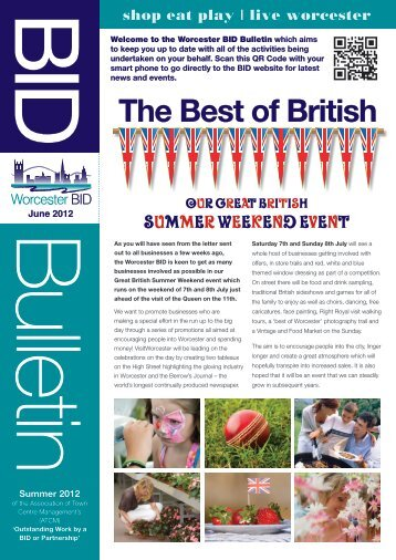 to download BID NEWSLETTER Summer 2012.pdf - Worcester