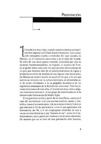 Presentación / Carlos Gómez Carro, Alejandra Sánchez Valencia