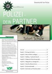 Tatort Schule2010 - Verlag Deutsche Polizeiliteratur