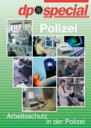 Arbeitsschutz in der Polizei - GdP