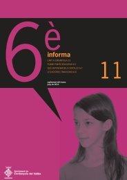 Sisè informa - juny 2011 - Ajuntament de Cerdanyola del Vallès