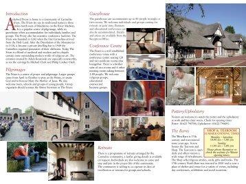 general publicity leaflet - British Province of Carmelite Friars