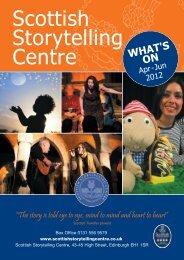 Events Apr-Jun 2012.qxd - The Scottish Storytelling Centre