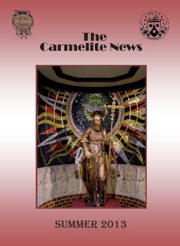 carm summer newsletter 2013.indd - British Province of Carmelite ...