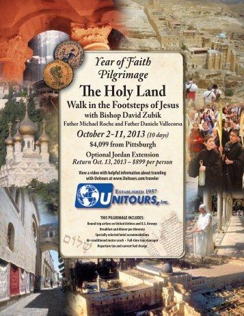 Pittsburgh Catholic's Year of Faith Pilgrimage: The Holy Land