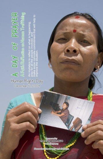 Human Trafficking - Carmelite NGO