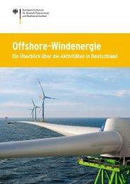 Offshore-Windenergie – Ein Überblick über die ... - BMU - Bund.de