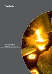 Processing of radioactive waste - Studsvik