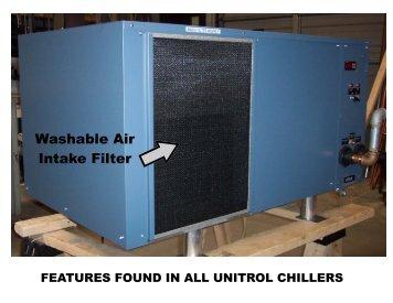 Chiller Features - T. J. Snow
