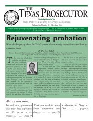 Prosecutor - Texas District & County Attorneys Association