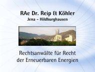 Rechtlichen Aspekte beim Bau und Betrieb von Geothermie-Anlagen