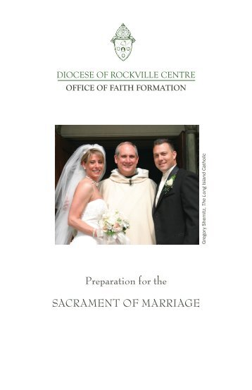Marriage Preparation Booklet - Diocese of Rockville Centre