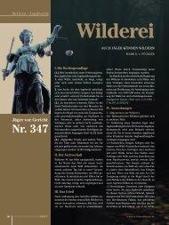Wilderei.pdf - Wild und Hund