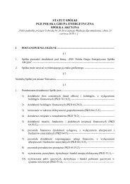 Załącznik nr 1 Jednolity teskt Statutu Spółki - PGE