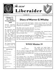 The 461st The 461st Liberaider - 461st Bombardment Group