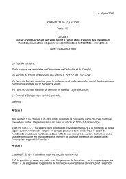 Le 16 juin 2009 JORF n°0132 du 10 juin 2009 Texte n ... - Inserweb