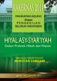 Hiyal asy syariyah dalam praktek hibah dan wasiat - MS Aceh